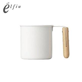 日本高桑elfin 原木琺瑯杯-M