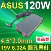 ASUS 華碩 120W 圓孔帶針 高品質 變壓器 G501, UX501,UX501J4720,UX501J,UX501JW, UX501V,UX501VW,PA-1121-28