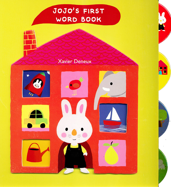 JoJo's First Word Book 小兔JoJo的家