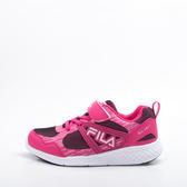FILA  兒童 慢跑鞋-桃粉 3-J401S-255