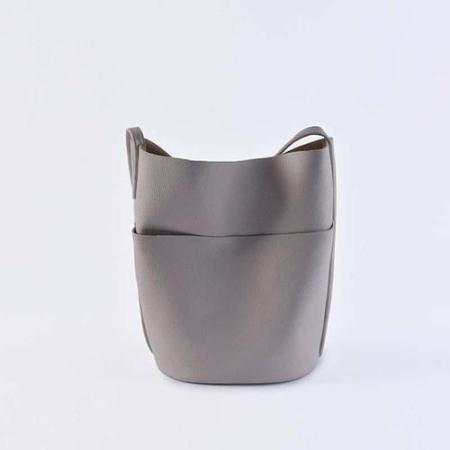 真皮手提包-牛皮子母托特包肩背女水桶包73yp19[巴黎精品]
