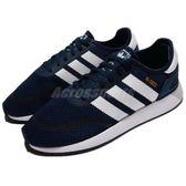 adidas 休閒鞋 N-5923 藍 白 基本款 透氣網布 復古外型 慢跑鞋 男鞋【PUMP306】 DB0961