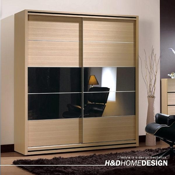 衣櫃/衣櫥 威爾斯5.2尺拉門衣櫥(18CM/093-11)【DD House】