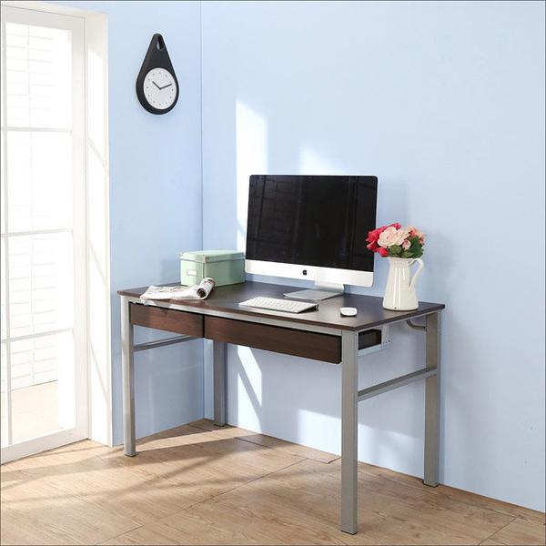 【澄境】I-B-DE050WA-2DR 低甲醛防潑水120公分雙抽屜穩重型工作桌