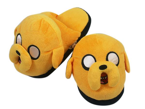 【卡漫城】 老皮 拖鞋 二選一 ㊣版 探險活寶 絨毛 Adventure Time 兒童 成人 保暖拖 阿寶 室內拖