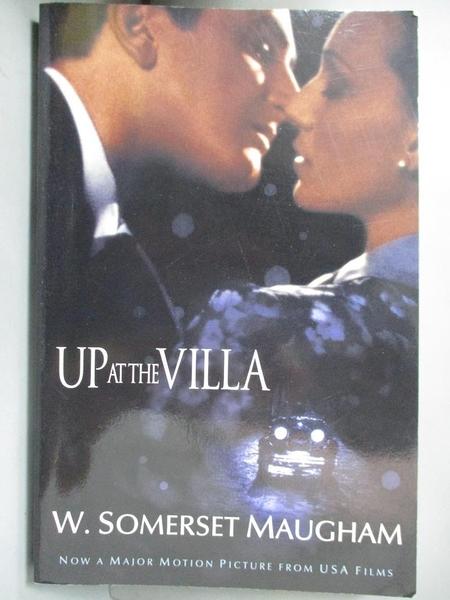【書寶二手書T6/原文小說_GOQ】Up at the Villa_Maugham, W. Somerset