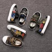 男童鞋子 兒童帆布鞋男童板鞋女童鞋子夏款韓版迷彩秋款新品潮