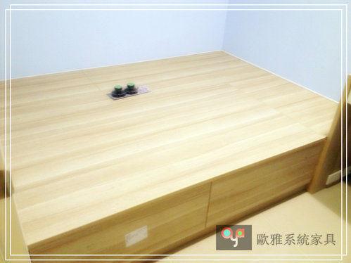 【歐雅系統家具】系統收納櫃  系統上掀整潔大方收納和室 原價 35433 特價 24803