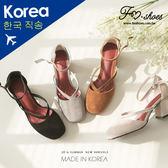 跟鞋.縷空真皮高跟瑪莉珍鞋-FM時尚美鞋-韓國精選.shine