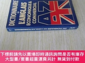 二手書博民逛書店法文原版罕見Dictionnaire de l anglais économique et commercial奇
