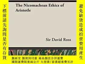 二手書博民逛書店The罕見Nicomachean Ethics Of AristotleY256260 Sir David R
