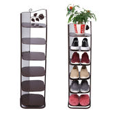 鞋架簡易經濟型家里人家用多層組裝防塵宿舍多功能小鞋櫃igo 夏洛特居家