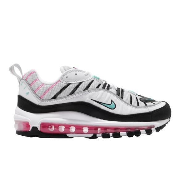 Nike 休閒鞋 Wmns Air Max 98 白 黑 女鞋 運動鞋 【ACS】 AH6799-065
