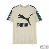 PUMA 女 流行系列PUMA織帶短袖T恤(F)  圓領T(短)- 57841602