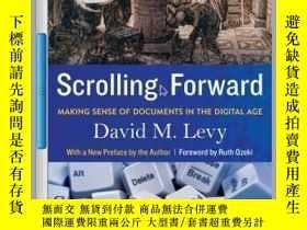二手書博民逛書店Scrolling罕見ForwardY410016 David M. Levy Arcade (April 1