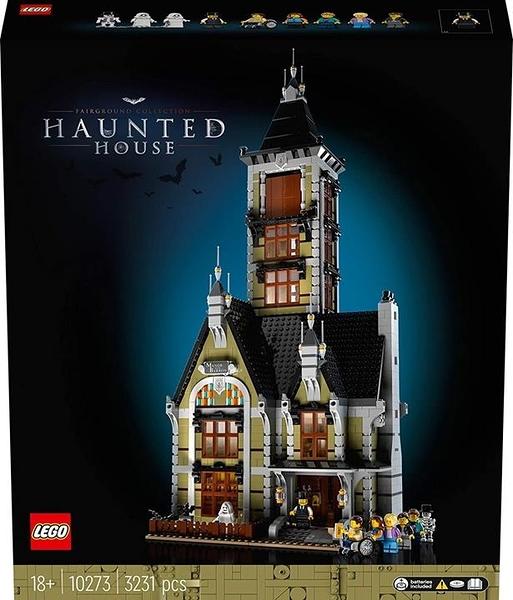 LEGO 樂高  Creator Fairground Collection Haunted House 10273