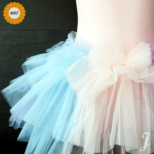 ☆棒棒糖童裝☆彩虹款 蕾絲網紗多層設計蓬蓬裙兒童芭蕾舞衣M/L/XL/XXL