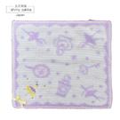 日本毛巾-芭蕾女孩小方巾-紫-玄衣美舖
