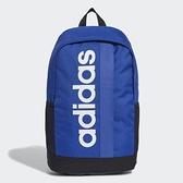 Adidas ESSENTIALS 大LOGO藍色後背包-NO.GE1155