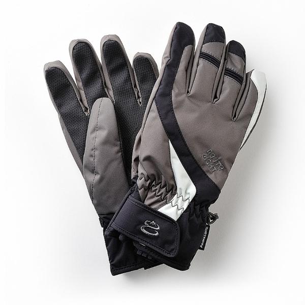 【Route 8八號公路】成人款 - COURSYN PRIMALOFT防水保暖手套 (黑色)