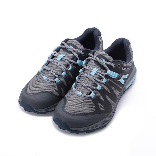 MERRELL ZION FST WATERPROOF 防水越野鞋 灰/水藍 ML035396 女鞋 登山│健行│郊山│多功能│戶外