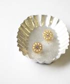[現貨] itam 日本製 珍珠花園耳環/耳夾 (NP157)