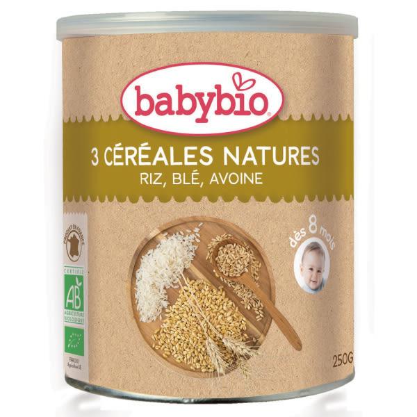 BABYBIO 有機寶寶全穀麥精 250g-法國原裝進口8個月以上嬰幼兒專屬副食品