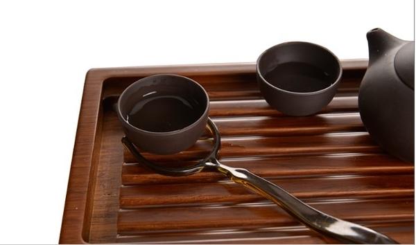 (協貿國際)茗匠功夫茶具茶道零配件茶杯托杯叉茶藝茶壺海配件 4入