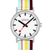 MONDAINE 瑞士國鐵 Classic系列腕錶 – 40mm / 黃 66016BK