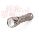 *阿亮單車*沖繩星野 迷你極限超高亮手電筒(R18)快速伸縮燈頭,鐵灰色《B27-R18》