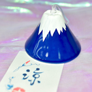 富士山 夏日物語 陶瓷風鈴 日本製