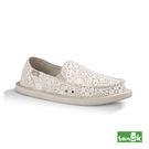 SANUK 勾針蕾絲懶人鞋-女款1015911 WOTM(白色)