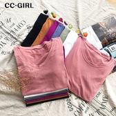 中大尺碼 多色短袖棉T恤上衣~共兩款7色 - 適XL~5L《 68130HH 》CC-GIRL