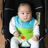 寶寶硅膠圍兜嬰兒食飯兜口水巾圍嘴立體防水易清洗無毒無味梗豆物語