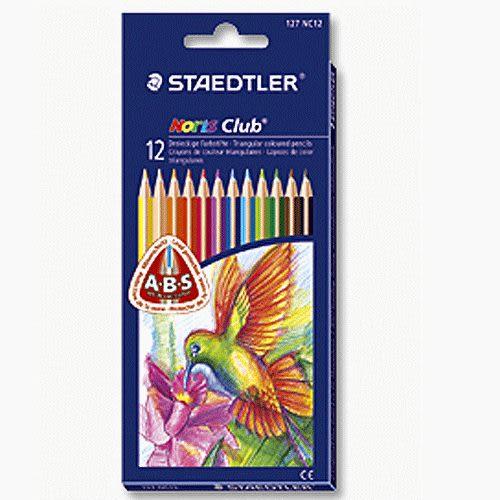 德國施德樓STAEDTLER triplus標準型三角型色鉛筆3mm* MS127NC12