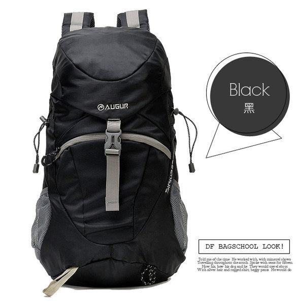 DF BAGSCHOOL - 休閒冒險系大容量輕盈尼龍款後背包