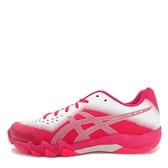 Asics GEL-Blade 6 [R753N-700] 女鞋 運動 羽球 包覆 支撐 透氣 舒適 亞瑟士 粉銀