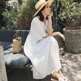 孕婦洋裝2019夏季時尚兩件套孕婦連身裙過膝中長款夏天裙子女 嬡孕哺