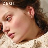 ZENGLIU小眾耳夾無耳洞女法式耳釘簡約氣質冷淡風耳環耳骨夾耳飾