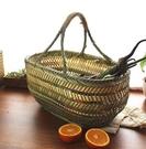 手工手提菜籃野餐籃