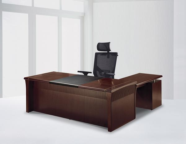 【IS空間美學】7尺主管桌整組(L型/8891)