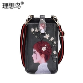 裝手機的小包包2021韓版新款潮夏天可愛斜挎包少女迷你卡通手機包