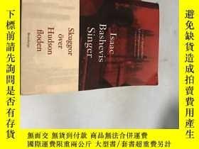 二手書博民逛書店lsaac罕見bashevis singer skuggor o