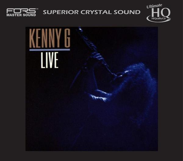 停看聽音響唱片】【UHQCD】Kenny G:Live(限量編號)