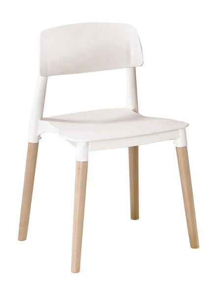 【南洋風休閒傢俱】造型桌椅系列 – 筷子腳休閒椅餐椅 塑料椅 彩色靠背椅 造型餐椅(528-9)