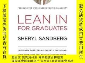 二手書博民逛書店Lean罕見In For GraduatesY256260 Sheryl Sandberg Knopf 出版