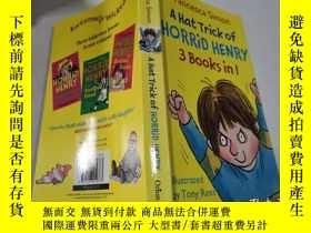 二手書博民逛書店a罕見hat trick of horrid henry可怕的亨利的帽子戲法Y212829 不祥 不祥
