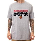 過你就像過馬路BASKETBALL#7短袖T恤-2色 籃球永不熄傳球過人中文t shirt Gildan 390