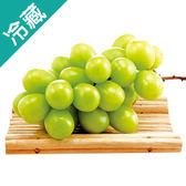 【日本】空運長野麝香綠葡萄1串/盒(500g±10%/盒)【愛買冷藏】