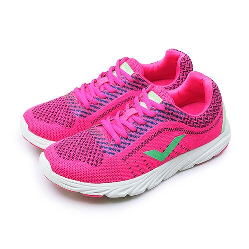 LIKA夢 PONY 輕量慢跑鞋 START NEO 時尚動感系列 螢桃綠 71W1ST62PM 女